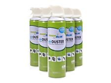 6x 600ml Air Duster Compressed Air Ozone Friendly Aerosol Can With Tube
