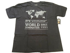 New Men's UFC 1993 Black Short Sleeve T-Shirt Size XL