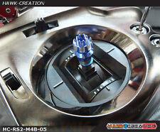 Hawk Creation Anti-Slip Stick Rocker End For JR XG8,11,14 (M4, Blue)