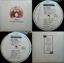 QUEEN A NIGHT AT THE OPERA 1975 PROMO WL 2 SONGS OMITTED TOP RARITY CHILEAN ONLY