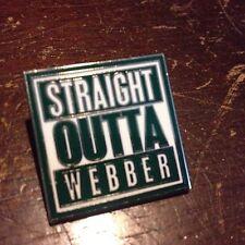 """Webber International University Warriors Pin - """"Straight Outta Webber"""""""