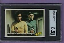 1976 Star Trek THE PHASER Card #8 SGC 8.5 NM - MT+