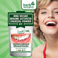 Whitening Tooth Powder Activated Coconut Charcoal Stain Remover 100g MEGA DEAL