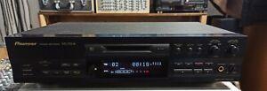 Pioneer MJ-D508 High-End Minidisc Recorder / Mini Disc Player MD + Fernbedienung