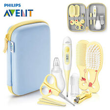 Philips Avent 11-tlg. Baby Pflege Set SCH400/00 (inkl. Thermometer, Bürste uvm.)