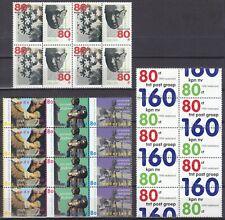 kavel blokjes samenhangende zegels 1998 (3) postfris (MNH)