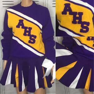 Cheerleading Uniform  Vintage High School Adult Sm