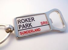 Old Sunderland Stadium Badge Street Road sign Apribottiglie Portachiavi Regalo