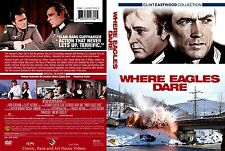 Where Eagles Dare ~ New DVD ~ Clint Eastwood, Richard Burton (1968)