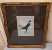 THE SKATING MINISTER REVERAND ROBERT WALKER ON DUDDINGSTON LOCH~FRAMED PRINT
