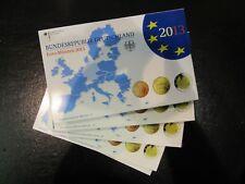 Germania BRD Euro KMS 2013 BADENWURTEMBERG a-j ADFGJ completamente in blister PP