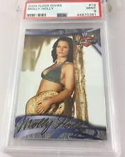 Molly Holly 2004 Fleer Wwe Divas #19 Psa 9 Pop 2