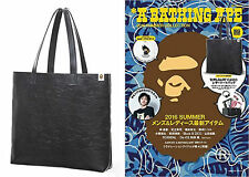 A Bathing Ape Bape 2016 Summer Collection Camo Leather Tote Bag