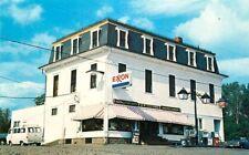 Roadside Postcard Titcomb's General Store & Gas Station, Abbot Village, Maine