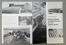 Original 1968 Dairy Management Photo Article of Farmer Ed Behm of Fremont Ohio