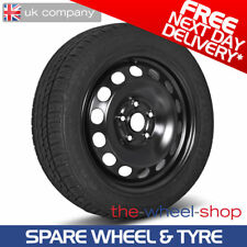 "16"" Vauxhall Astra J - 2009 - 2015 Full Size Spare Steel Wheel and Tyre - 5x115"