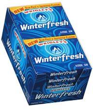 WRIGLEY'S WINTERFRESH GUM 10 -15 Stick Packs= 150 Sticks ALWAYS FRESH