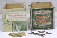 Vtg Pflueger Capitol Reel BOX with Papers Wrench Washer NO Reel