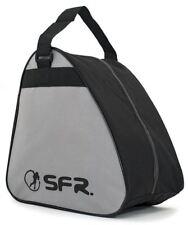 SFR Vision GT Skate/Quad/Roller Derby/Ice Skate/Figure/Hockey Bag - Black/Grey