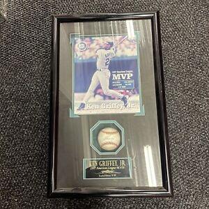 Ken Griffey Jr Signed Autographed Baseball / Framed AUTHENTIC