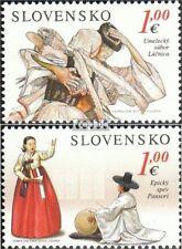 Slowakije 709-710 (compleet.Kwestie.) postfris MNH 2013 Südkorea