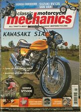Classic Motorcycle Mechanics Kawasaki S1A Reunited August 2015 FREE SHIPPING