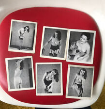VTG EROTICA COLLECTION PINUP 50s 60s FEMALE NUDE MODEL NAKED 6 Original PHOTOS