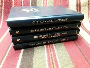 Curtain, plus 3 others see pics ~ Agatha Christie  ~ #K