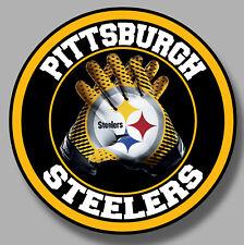 Pittsburg Steelers Vinyl Sticker Decal 8 Different Size Car Windows NFL football