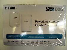 D-Link DHP-601AV PowerLine AV2 600 Gigabit Starter Kit