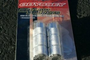 NOS Odyssey Alloy Hollow Bullets Pegs Fit Haro Redline Dyno Robinson Powerlite A