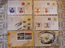 CANADA- FDC STAMPS COLLECTION 2005 (41 envelopes)