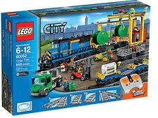 Lego City tren de carga, 60052 Potencia Funciones motorizados, nuevo Sellado BNISB