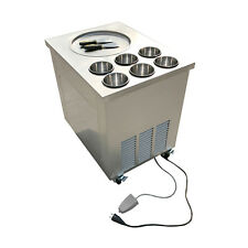 NEW! Fried Ice Cream Machine Roll Ice Cream Making Machine Fried Ice Machine
