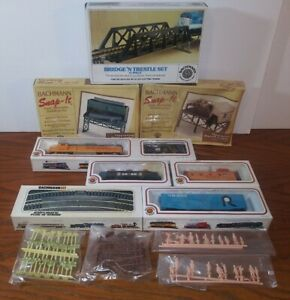Vintage BACHMANN AMERICAN EAGLE HO Electric Train Set Engine Power Pack UNTESTED