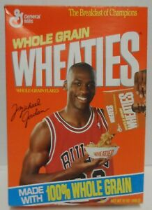 Wheaties Box Michael Jordan Pouring Cereal 1990, Series 47 Empty Box 12oz