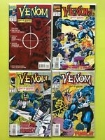 Venom Nights of Vengeance #1 2 3 4 (1994)  Marvel NM 9.4
