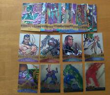 1995 95 Fleer Marvel Metal Base/Flasher/Blaster 33-Card Lot