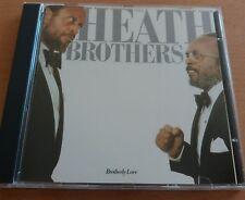 The Heath Brothers - Brotherly Love - Jazz Album CD - Japan
