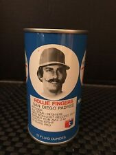 Rc Cola Rollie Fingers Baseball Bank Can 12 Ounce Metal 1977