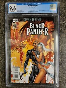 Black Panther #5 (2009) Marvel CGC 9.6 1st Appearance of Shuri as Black Panther!