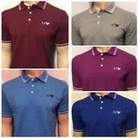 Armani Jeans Men's Short Sleeve Polo Shirt- All season