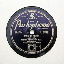 "LESTER FERGUSON (Tenor) ""Song Of Songs"" PARLOPHONE R-3312 [78 RPM]"