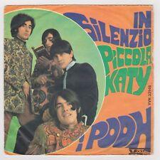 "45 giri 7"" - I POOH Il silenzio, Piccola Katy - 1968 - USATO - EV"