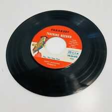 Parakeet Training Record - 45 Rpm Vinyl Record Hartz Mountain Bird Training