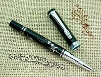 P11 Jinhao Descendants of the Dragon Fountain Pen with Gift Box Noble Black