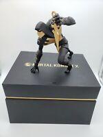 SCORPION STATUE + BOX ONLY (COARSE EDITION) MORTAL KOMBAT X (NO GAME OR DLC)