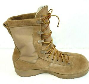 Read  Amputee left mens boot only Belleville boots sz 8.5  R desert tan made USA