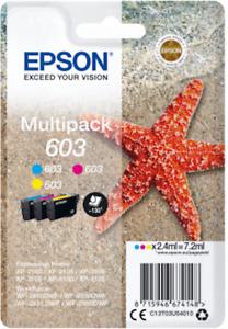 Cartuccia EPSON 603 Stella Marina multipack colori originale