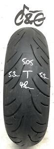 Bridgestone Battlax Bt023r   180/55zr17   73w Part Worn Motorcycle Tyre 505